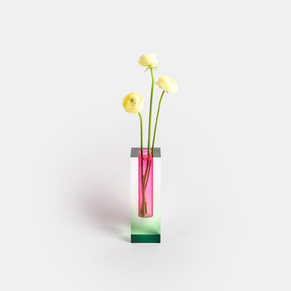 Mellow Vase - Green & Pink - Monologue London