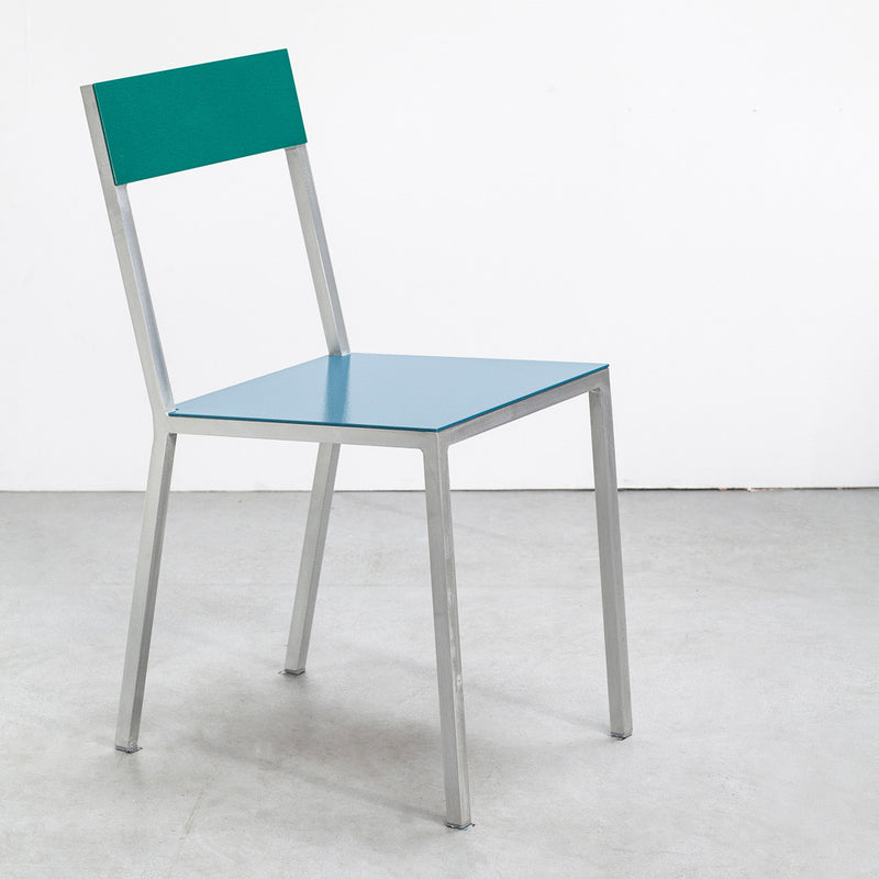 Alu Chair - Blue Seat - Monologue London