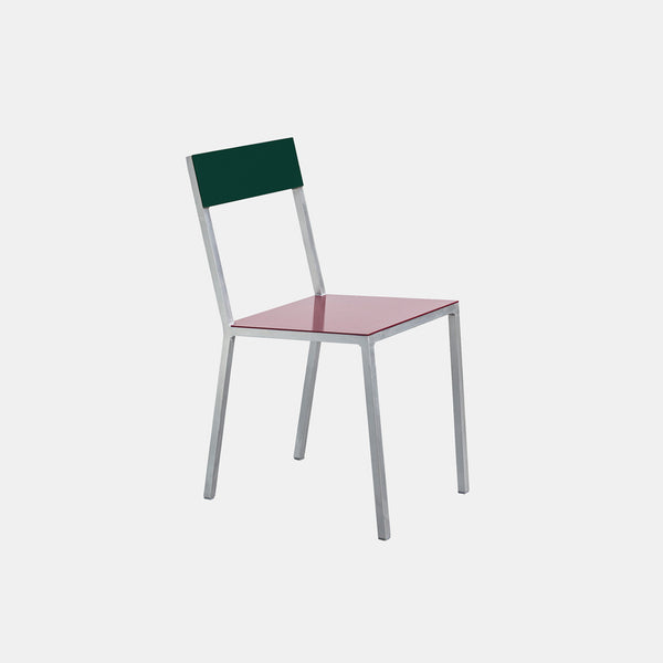 Alu Chair - Burgundy Seat - Monologue London