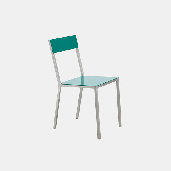 Alu Chair - Green Seat - Monologue London