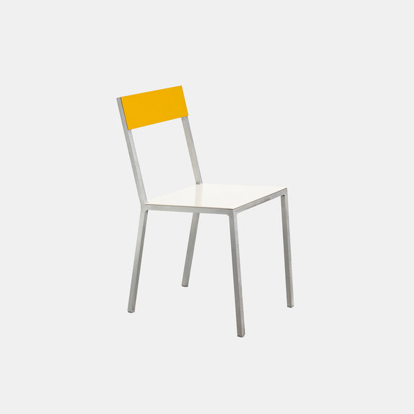 Alu Chair - White Seat - Monologue London