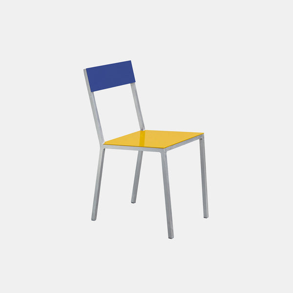 Alu Chair - Yellow Seat - Monologue London