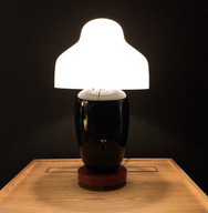 Chinoz Black - Table Lamp - Monologue London