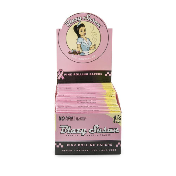 Blazy Susan 1 1/4 Pink Papers - 50ct