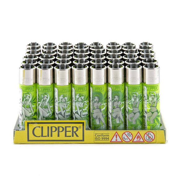 Clipper Lighter Display - 48ct - Marijane Pinups
