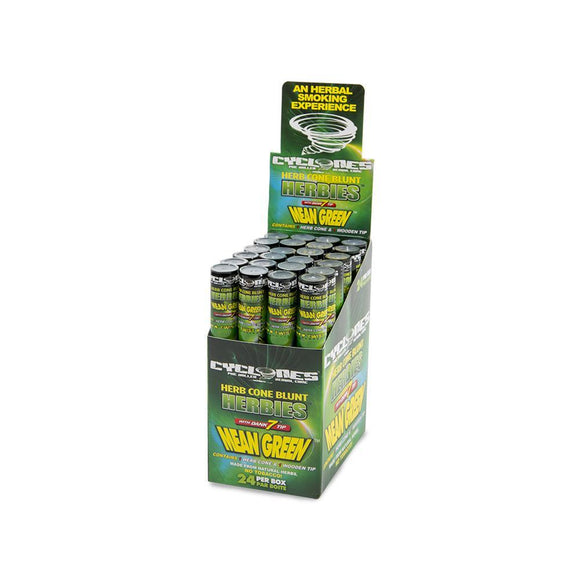 Cyclone Mean Green - 24ct