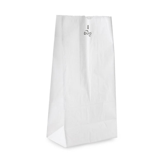 Paper Bag #8 - 500ct - White