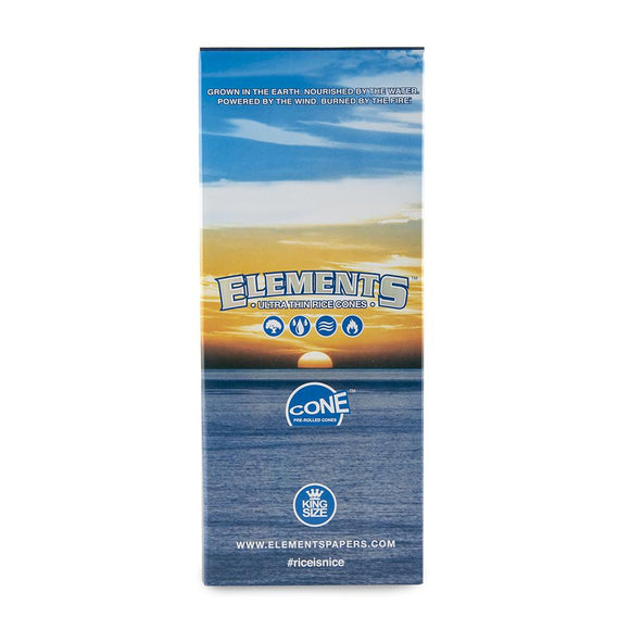 Elements King Size Cones - 800ct
