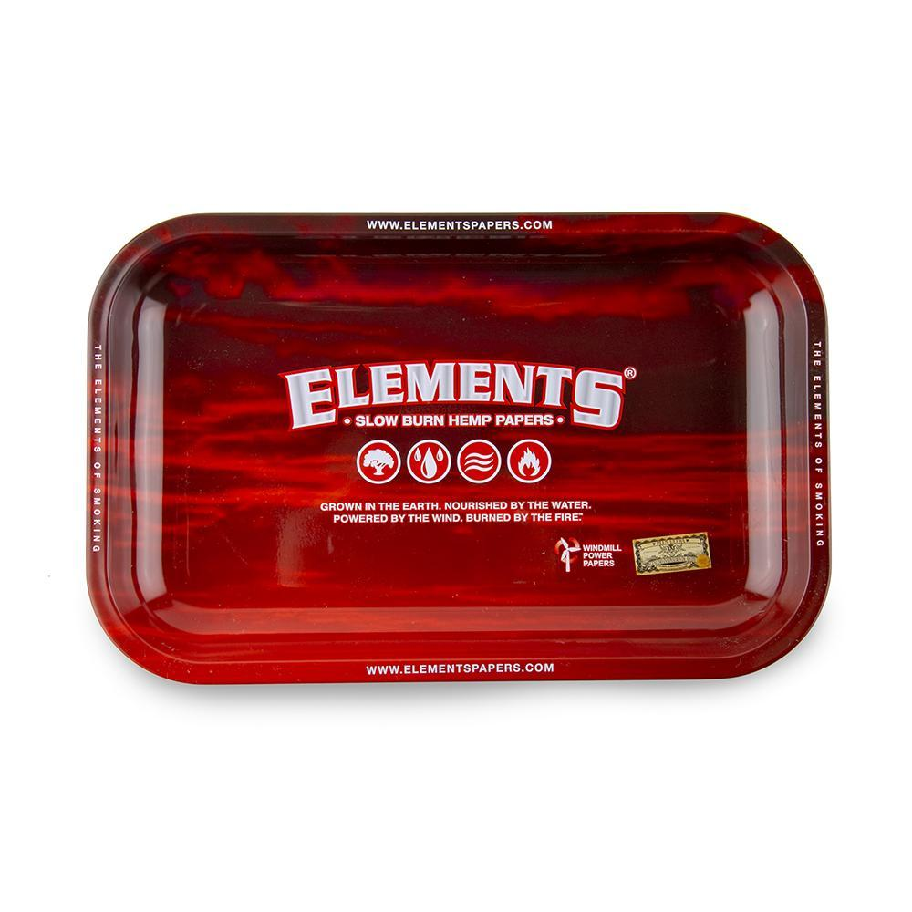 Elements Rolling Tray Red - Medium