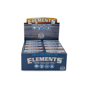 Elements Wide Rolling Tips - 50ct