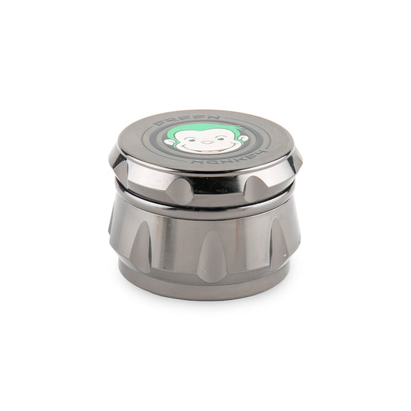 Green Monkey Grinder - Baboon - Gunmetal - 50MM