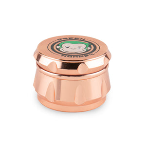 Green Monkey Grinder - Crown - Rose Gold - 50MM