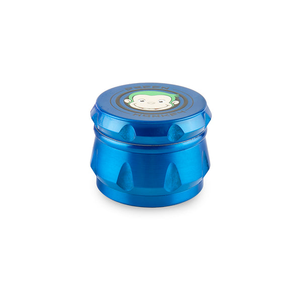 Green Monkey Grinder - Baboon - Blue - 63MM