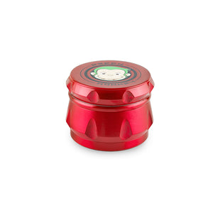 Green Monkey Grinder - Baboon - Red - 63MM