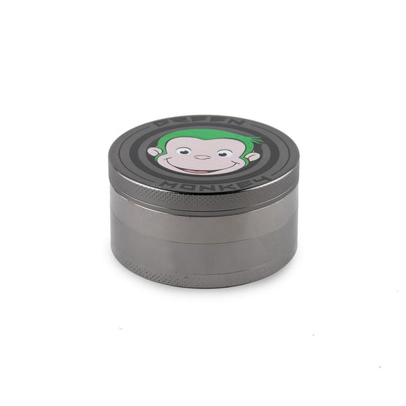 Green Monkey Grinder - 75MM - Gunmetal