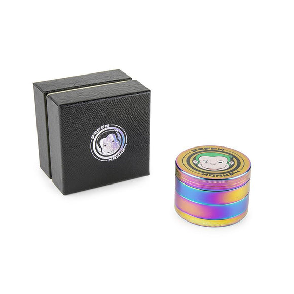 Green Monkey Rainbow Grinder - 63MM