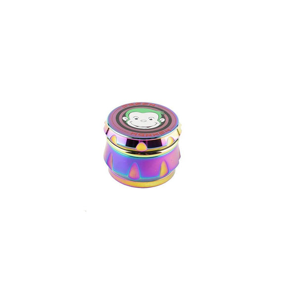 Green Monkey Rainbow Grinder Crown - 63MM