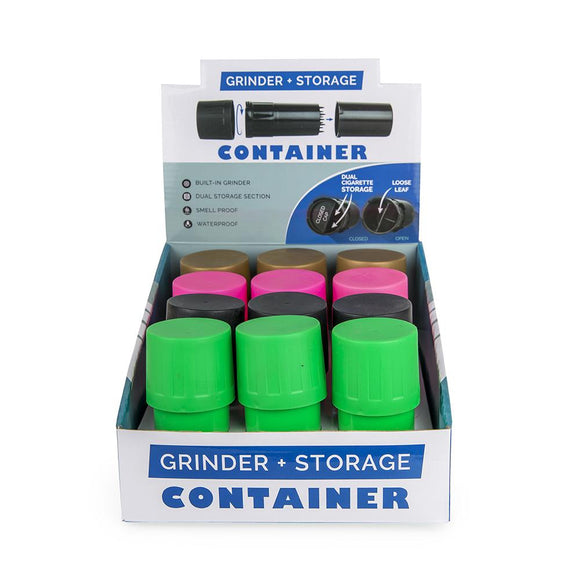 Grinder Storage Container - 12 Ct Display