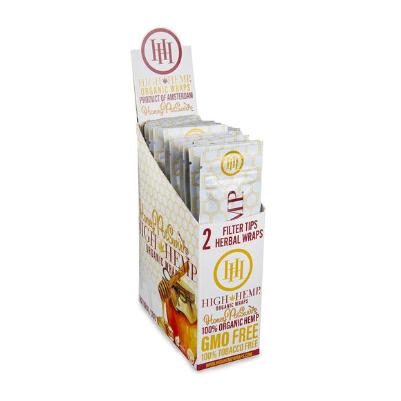 High Hemp Honeypot Wraps 25ct