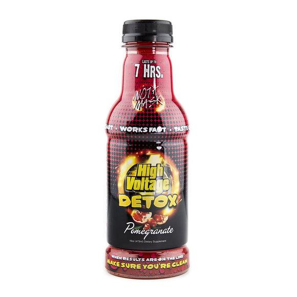 High Voltage Detox 32oz - Pomegranate