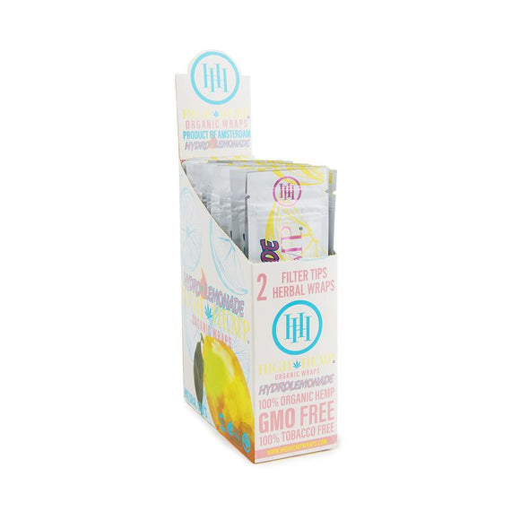 High Hemp Hydro Lemonade Wraps - 25ct