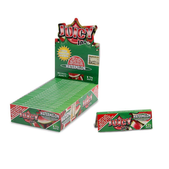Juicy Jays Watermelon Papers 1 1/4 - 24ct