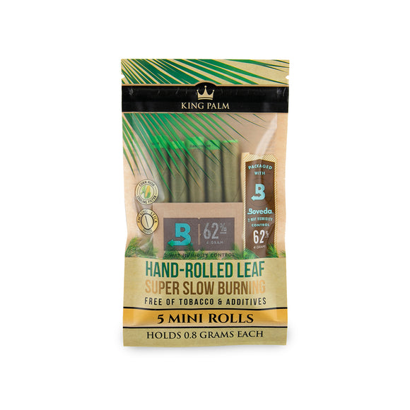 King Palm Mini Size 5pk w/ Boveda - 15ct