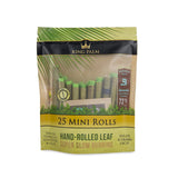 King Palm 25 Mini Rolls - 8 Pouch Display