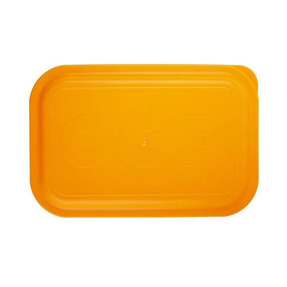 OCB Rolling Tray Lid Neon Orange - Medium