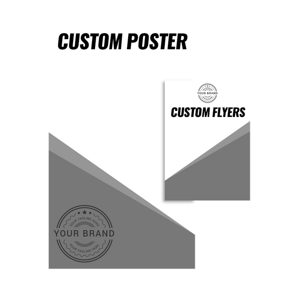 Custom Posters & Flyers