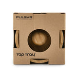 Pulsar Basic Tap Tray Round Ashtray - Bamboo