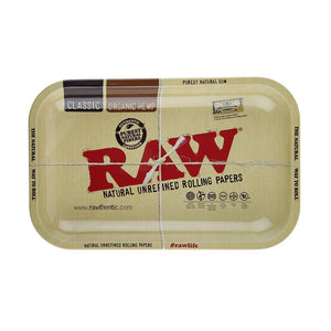 RAW Rolling Tray Metal - Small