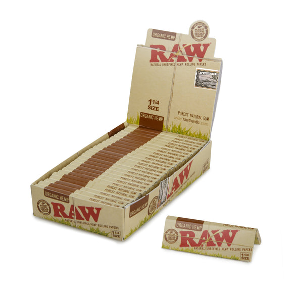 Raw Organic Papers 1 1/4 - 24 Ct.