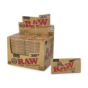 RAW Natural Papers 1/4 - 300 Leaves - 40 Packs