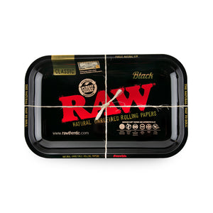 RAW Rolling Tray - Black - Small