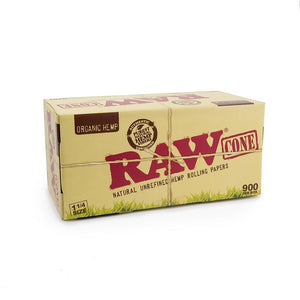 Raw Organic Hemp 1 1/4 Cones Bulk  - 900ct