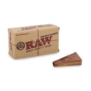 RAW Double Barrel Cigarette Holder - 1 1/4