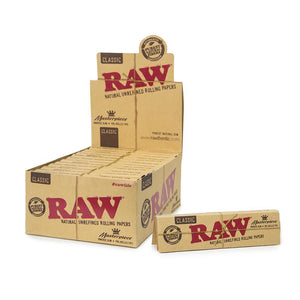 Raw Classic Masterpiece King Size Slim + PreRolled Tips - 24ct