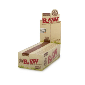 RAW Single-Wide Organic Hemp Box - 25ct