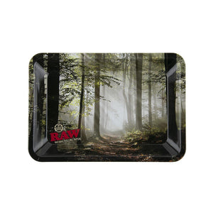 RAW Rolling Tray - Forest - Mini