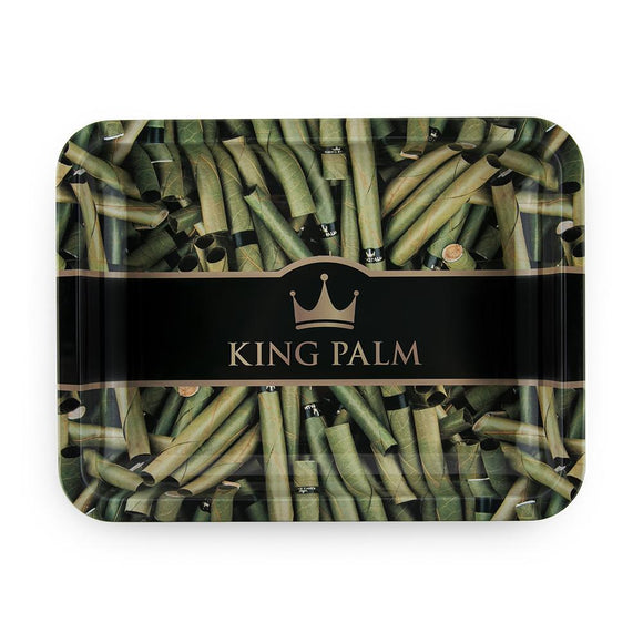 King Palm Rolling Tray - Royal - MEDIUM