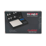 Truweigh Classic Digital Mini Scale 1000G X 0.1G Black