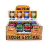 Icon Smoke Grinder & Container - 12ct