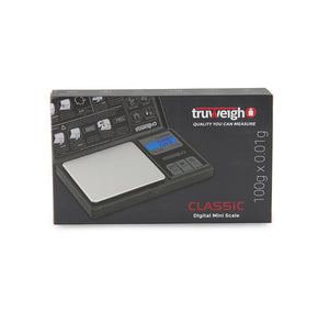 Truweigh Classic Digital Mini Scale 100G X 0.01G - Black