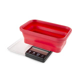 Truweigh Crimson Scale Collapsible Bowl 1000G X 0.1G / Black / Red Bowl