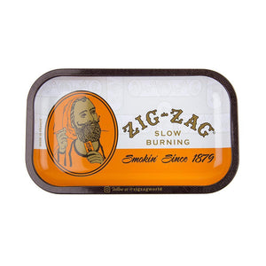 Zig-Zag Rolling Tray - Orange