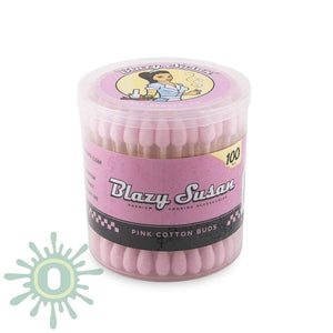 Blazy Susan Pink Q-Tips - 100Ct Accessories