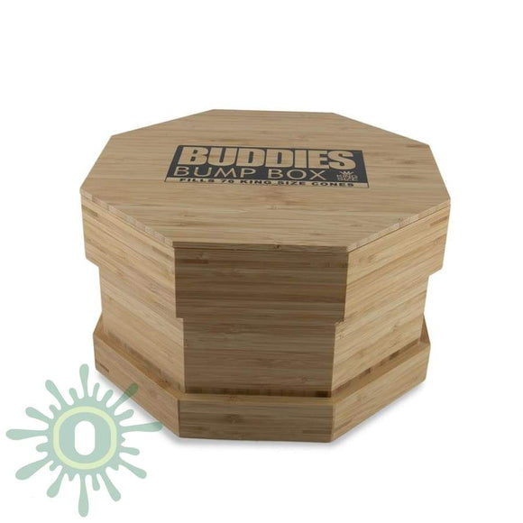 Buddies Bump Box Octo Wood - King Size 76Ct Accessories