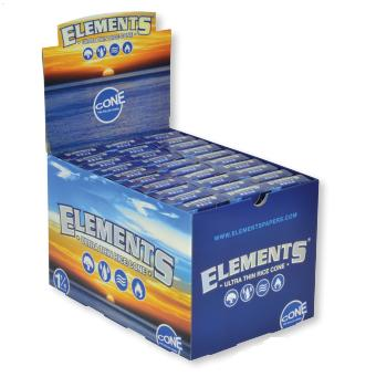 Elements Pre-Roll Cones 1 1/4 - 30Ct
