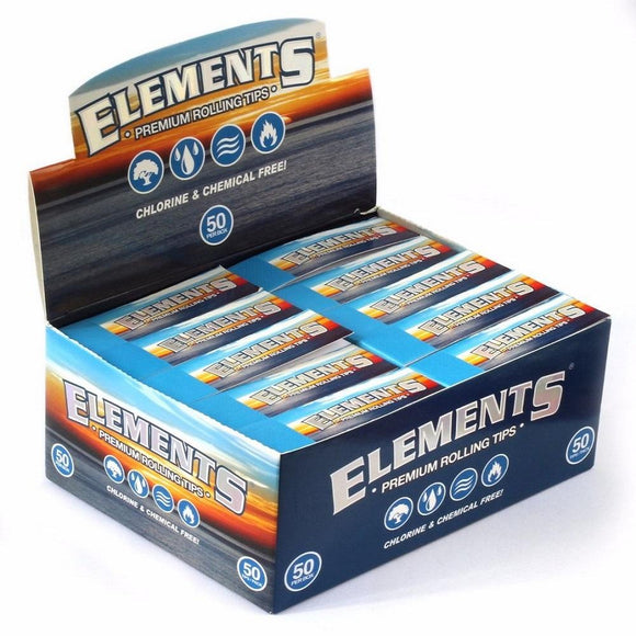 Elements Perforated Roll Up Tips 50 Ct